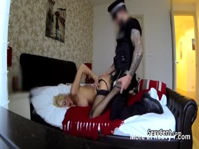 Copper Fucking A Wild Blonde