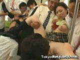 Japanese Coeds Abused In Train