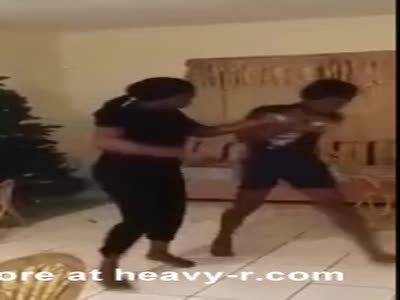 Teen beating by mother
