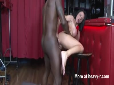 Bar Slut Fucks Black Customer