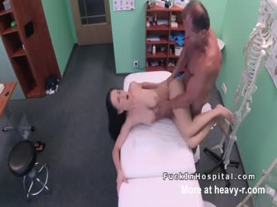 Busty Teen Fucks Doctor In Office