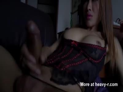 Asian Hottie Transessuali di Apple piace a Se stessa