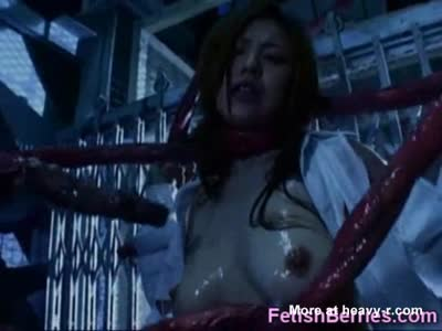 Horror Porn Tentacles Cum On Girl!