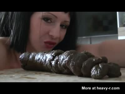 Giving Birth To Foot Long Turd