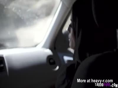 Banging hitchhiker Gracie hardcore in many ways