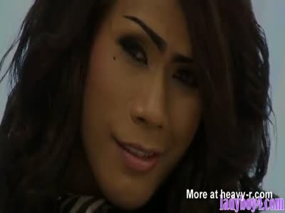 girls thai ladyboys in bars - Tall ladyboy fucking a guy up his ass