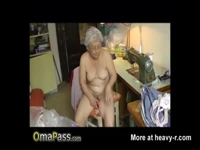 Granny Toys Herself