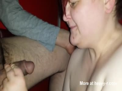 Fat Cum Slut Blowjob