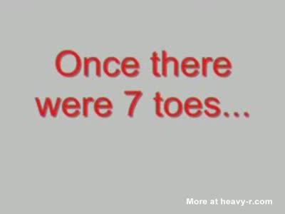SevenToes toe amputation #1