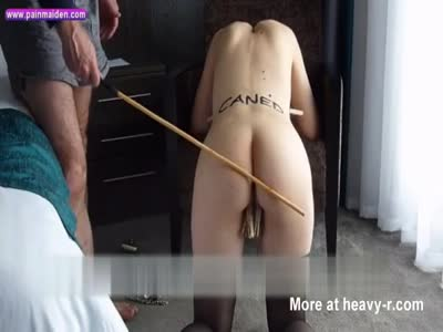 Caning Teen Slave