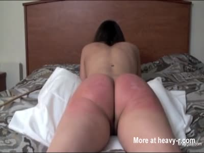 Caning That  Big Ass