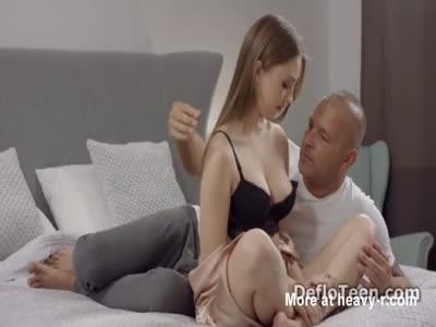 Busty Katya Zartpopsi enjoys having a cock in tight pussy