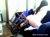 Chubby Girl Fucking Chair