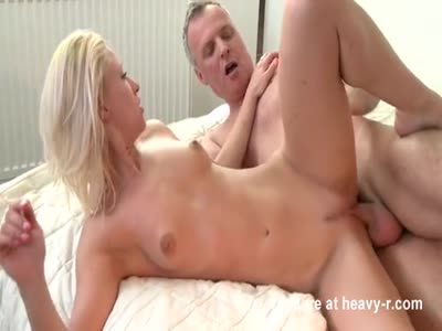Old Man Fucking Young Blonde