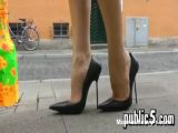 Walking On High Heels