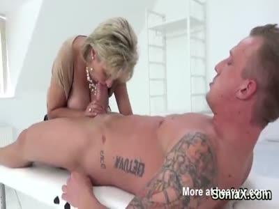 Cheating english milf lady sonia showcases her monster boobi