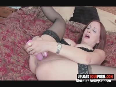 Hot MILF Masturbates Hard