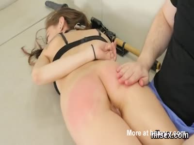 Slutty Girl Gets Some Discipline