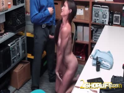 Hot milf Sofie is demolished by horny officers loaded cock