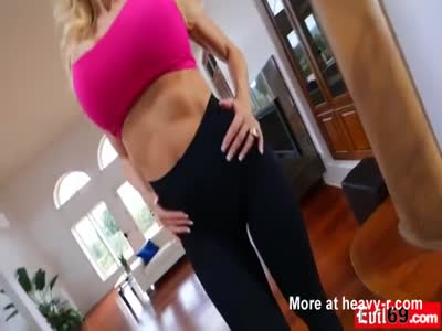 Titty fucking big boob MILF Brandi Love who cant get enough