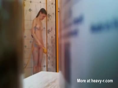 Step Sister In Shower