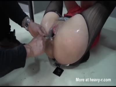 Fisting Restrained Girl