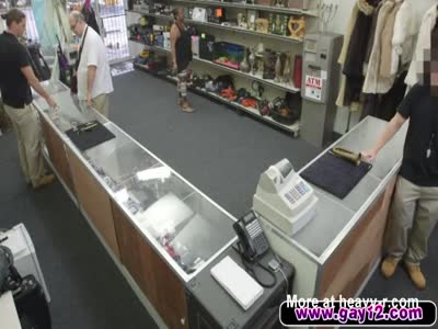 Sucking Dick And Getting Fucked In The Pawnshop