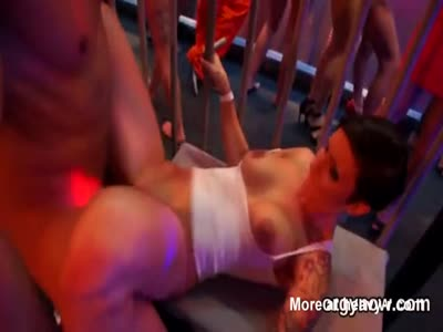 Kissable idols give suck job and enjoy reaming and sex orgy