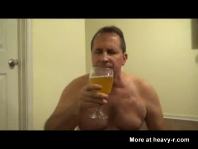 Pervert Drinks His Piss