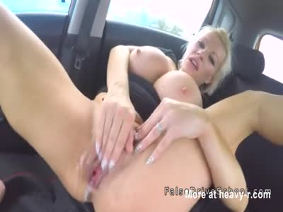 Driving Examiner Creampies Busty Client