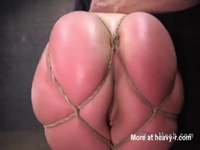 Ass Fuck For Roped Babe