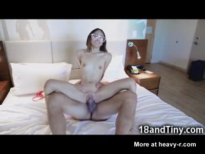 Outrageously Small 75 lbs Teen Fucked Hard!