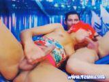 Shemale Blows Boyfriend's Hard Cock