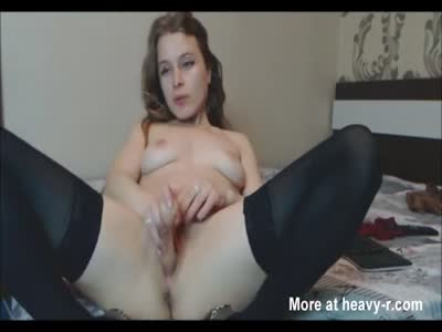 Brunette Has Fun With Her Pussy