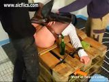 Tied Mature Fist And Bottle Fucked