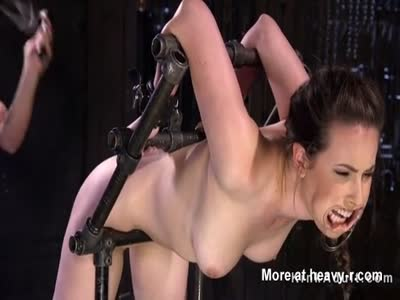 Tough Times For Slave In Bondage Device