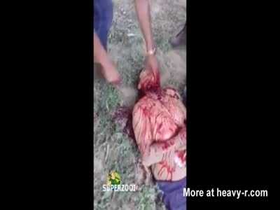 Beheaded And Butchered Alive