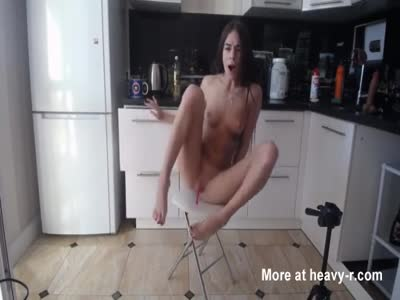 Hot Cam Girl Playing With A Dildo