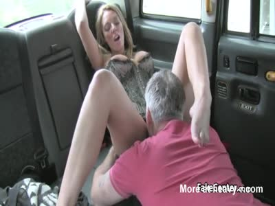 Slut Milf Gets Facialed In Taxi