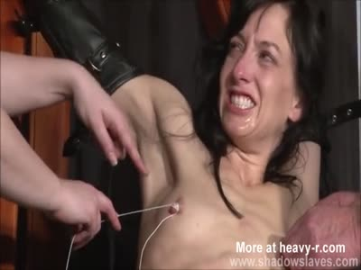 Enslaved Painslut Whipping In Hard BDSM Punish