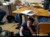 Russian Fight In School