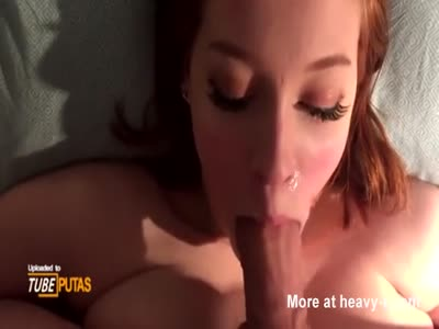 Busty Girlfriend Gets Cum Dumped In Mouth