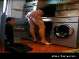 Mature seduces plumber