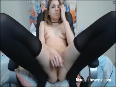 Petite Is Very Passionate About Pussy Play
