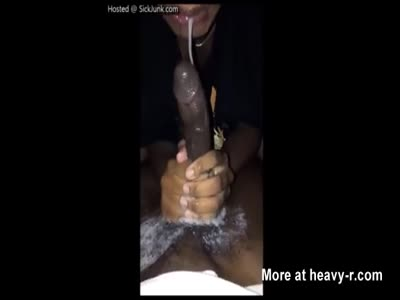 Cum Soaked Messy POV Blowjob