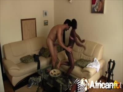 White guy pounding ebony hottie