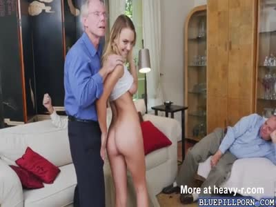 Perverts Fondle Cute Young Blonde