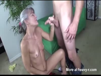 Granny Caught Riding Sex Machine