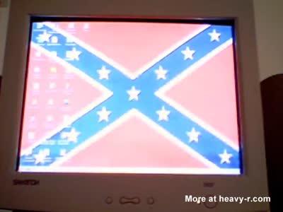 Funny Redneck Computer.