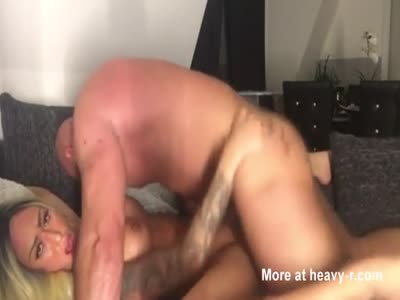 Busty Blonde MILF Fucked Hard